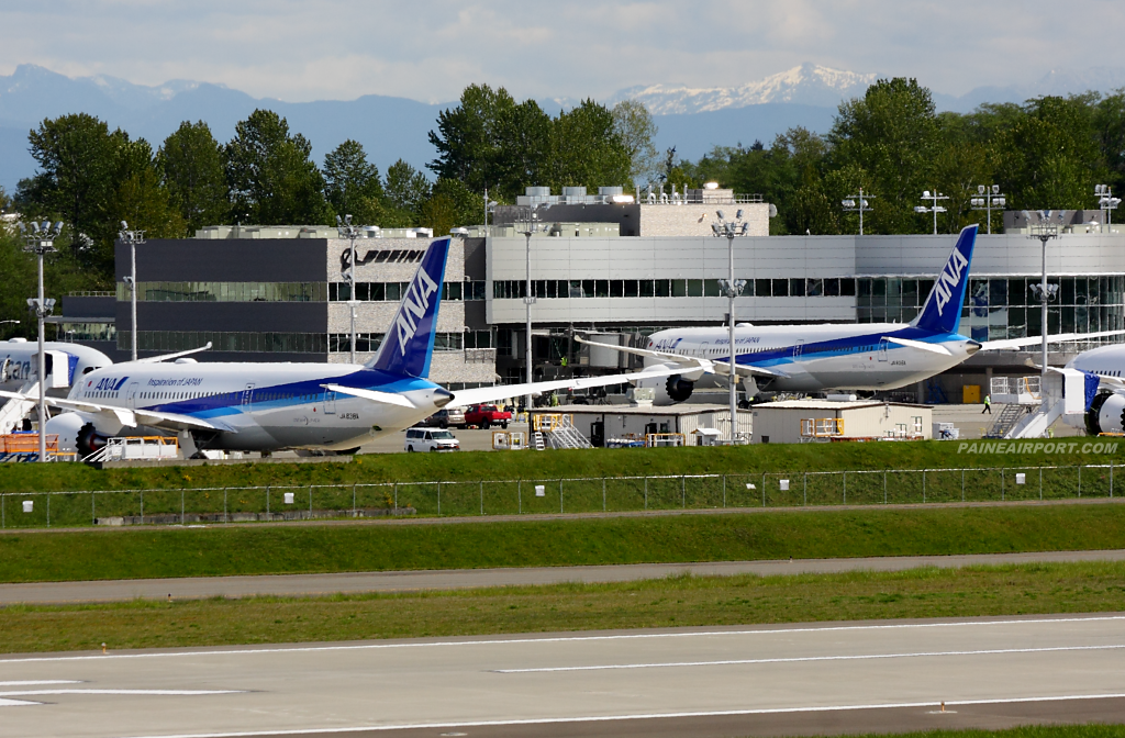 ANA 787-9 JA836A at Paine Airport