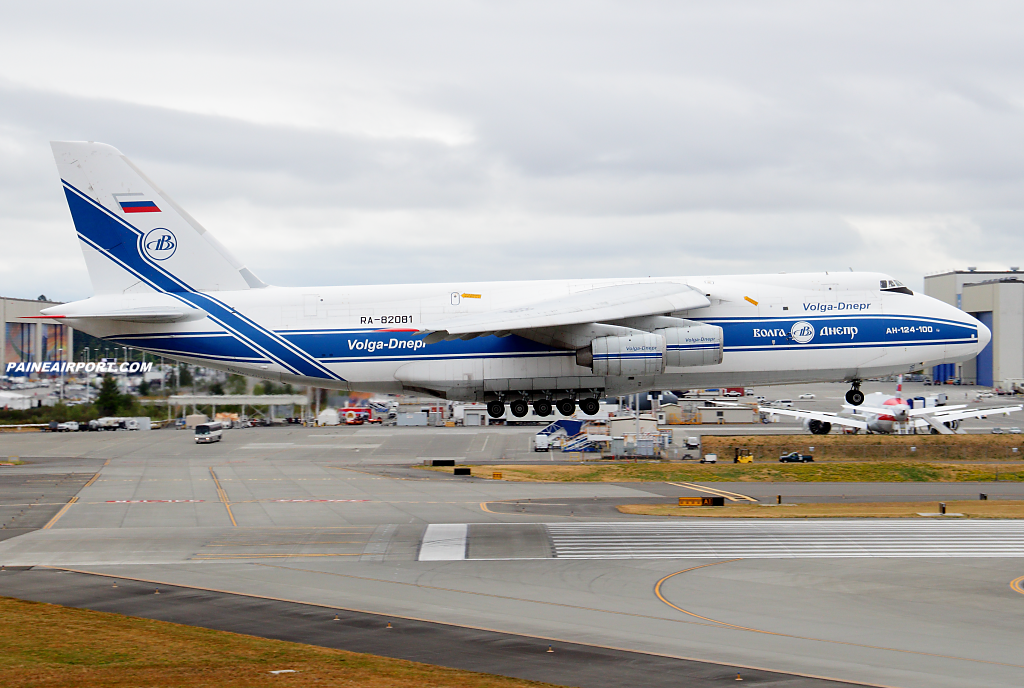 An-124 RA-82081 at Paine Airport