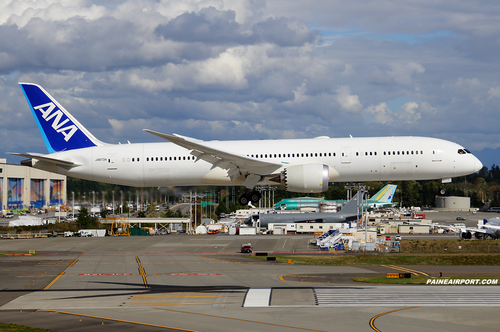 ANA 787-9 JA873A at Paine Field