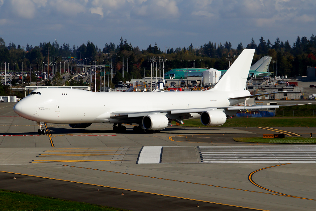 Atlas Air 747-8F N859GT at Paine Airport