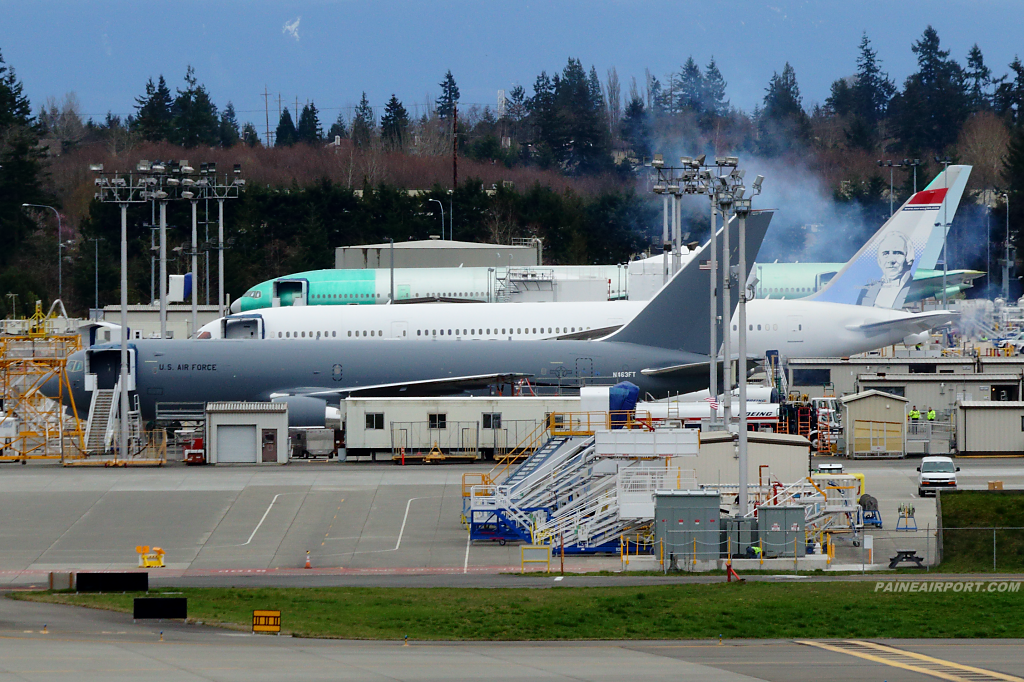 KC-46A N463FT at Paine Field