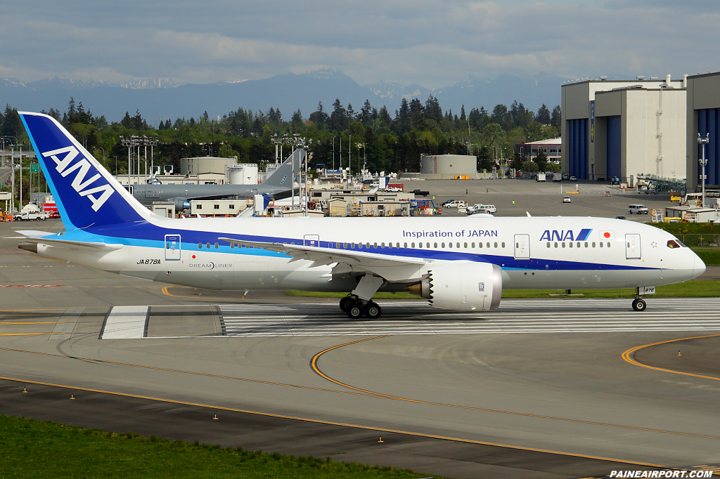 ANA 787-8 JA878A at Paine Airport