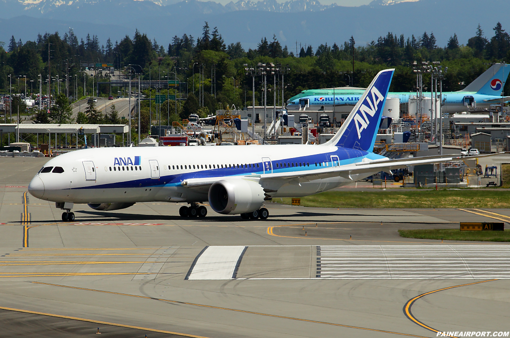 787-8 N1789B at Paine Airport