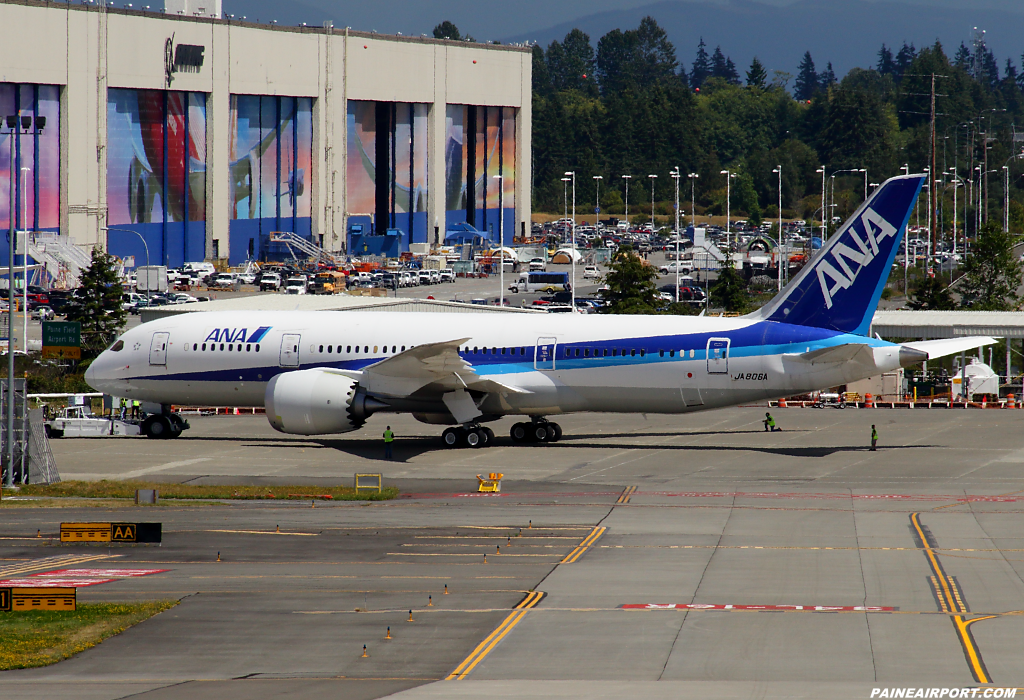 787-8 line 13 at Paine Airport