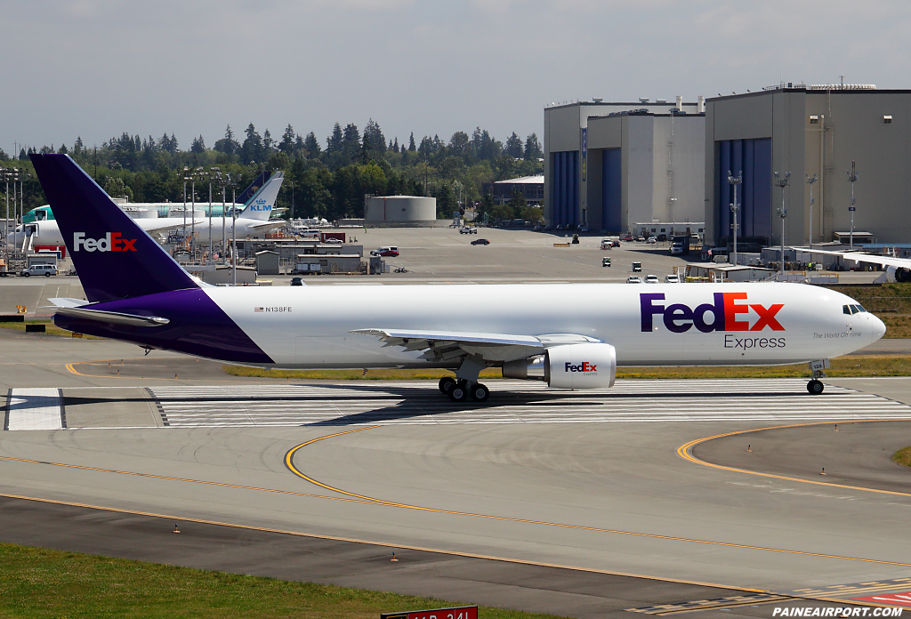 FedEx 767 N138FE at Paine Airport