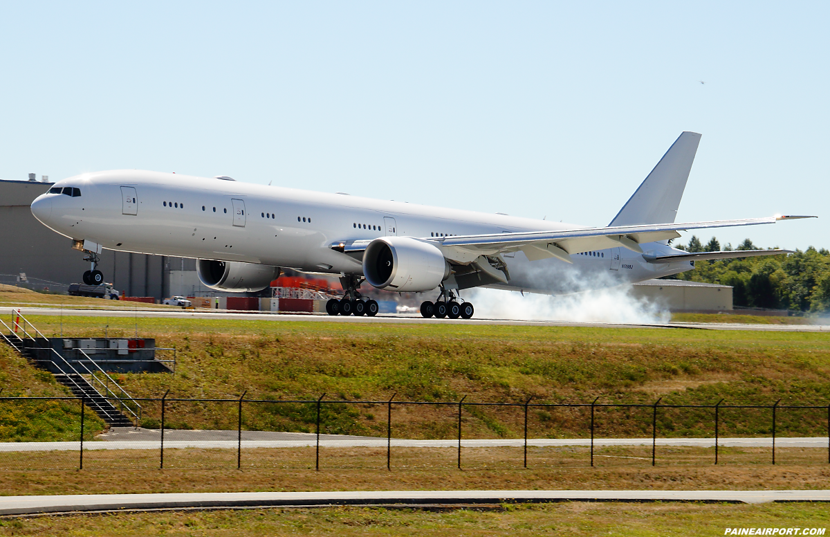 JASDF 777 N509BJ at Paine Airport