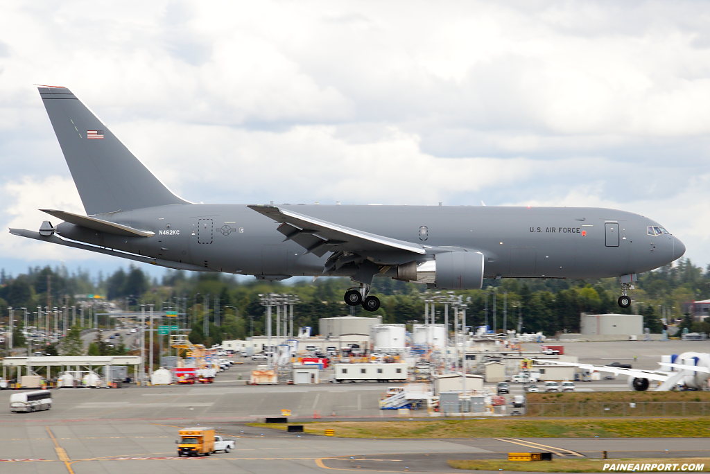 KC-46A N462KC at Paine Airport