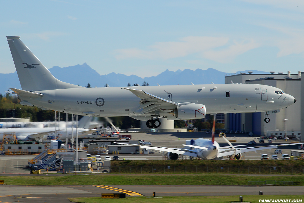 Royal Australian Air Force P-8A A47-001 at Paine Airport