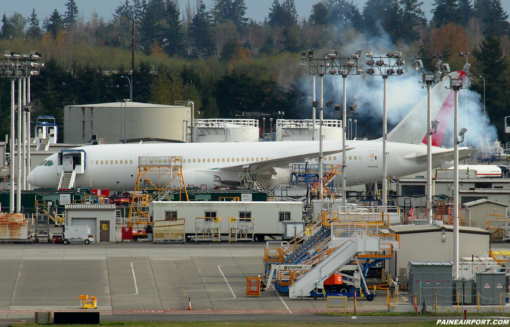 Air India 787-8 at Paine Airport