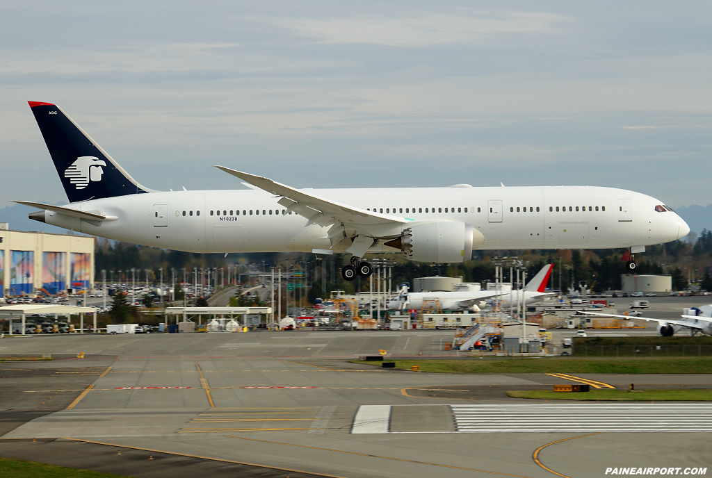 Aeromexico 787-9 XA-ADC at Paine Airport