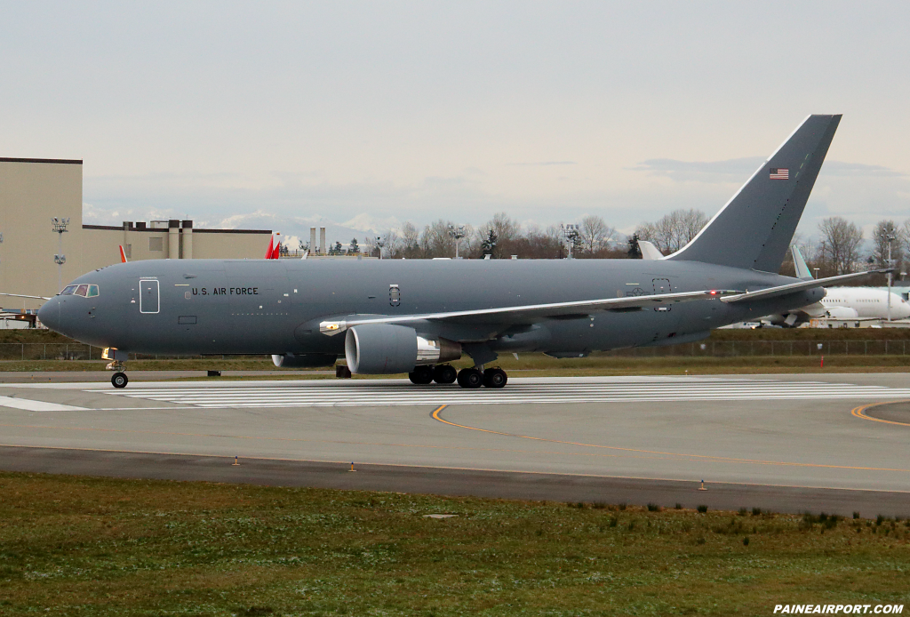 KC-46A N842BA at Paine Field at Paine Airport
